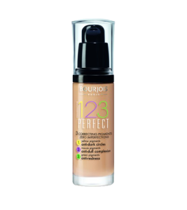 Bourjois 123 Perfect Foundation 30ml - 52 Vanilla