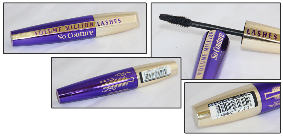 Loreal Volume Million Lashes So Couture - Black Noir