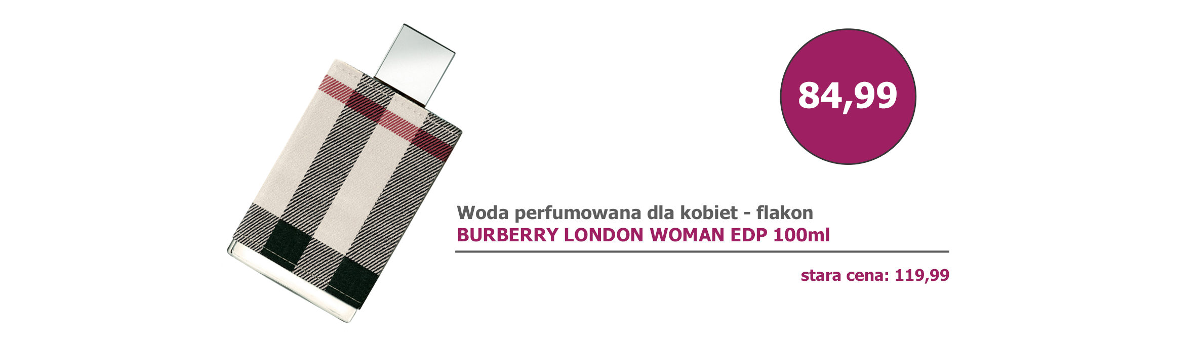 Burberry London Woman edp 100ml flakon - promocja
